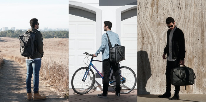 Transform your bag to fit your needs.