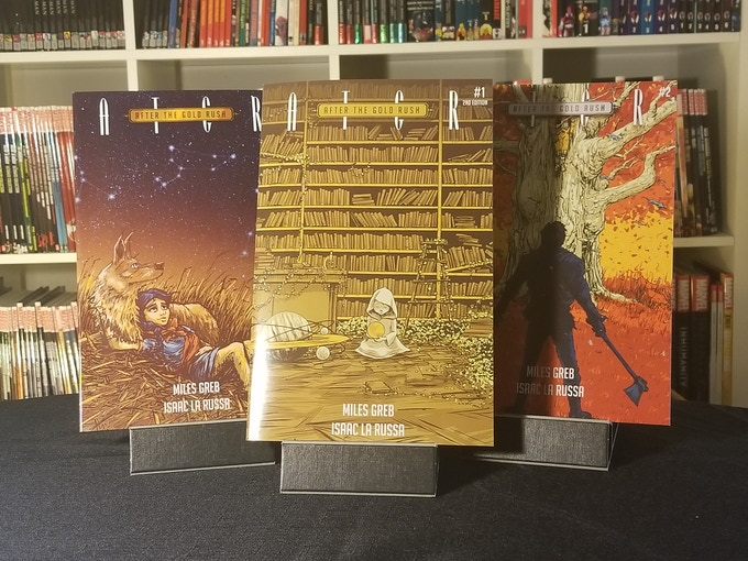 The series so far, ATGR #1,#2, and #3.