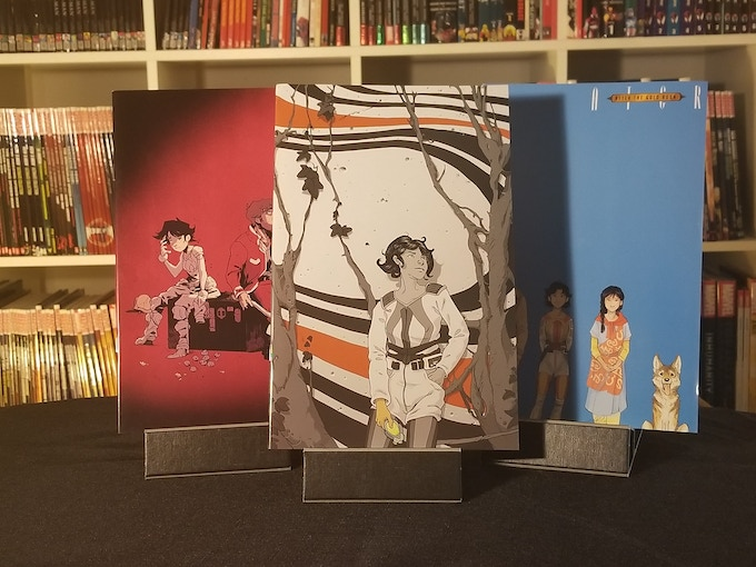"The Three ""Album Cover"" Variants of ATGR #3."