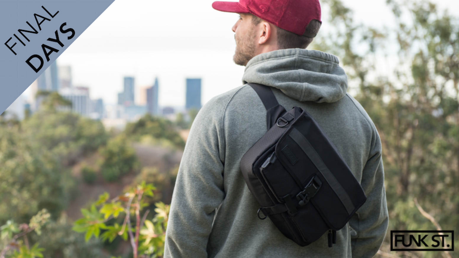 Ditch the heavy backpack for your EDC needs. The Commuterpak can be worn as a sling, waist bag & satchel and comes w/Lifetime Warranty!