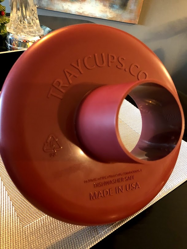 Bottom view of TrayCups