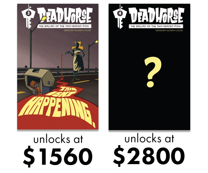 If we can fund the project, you'll receive a PDF of Ballad #3.  If we hit our stretch goal you'll receive Ballad #4 as well.