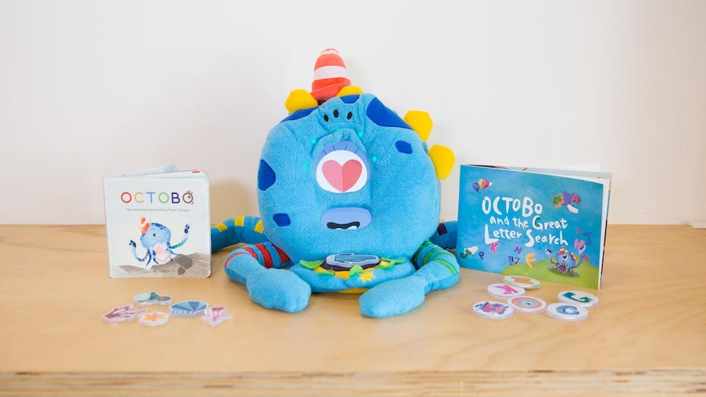 Octobo: Interactive Plush Companion for Creative Learning.