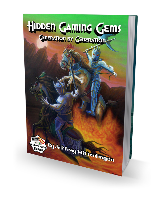 Hidden Gaming Gems - Video Game Review Book, All Consoles