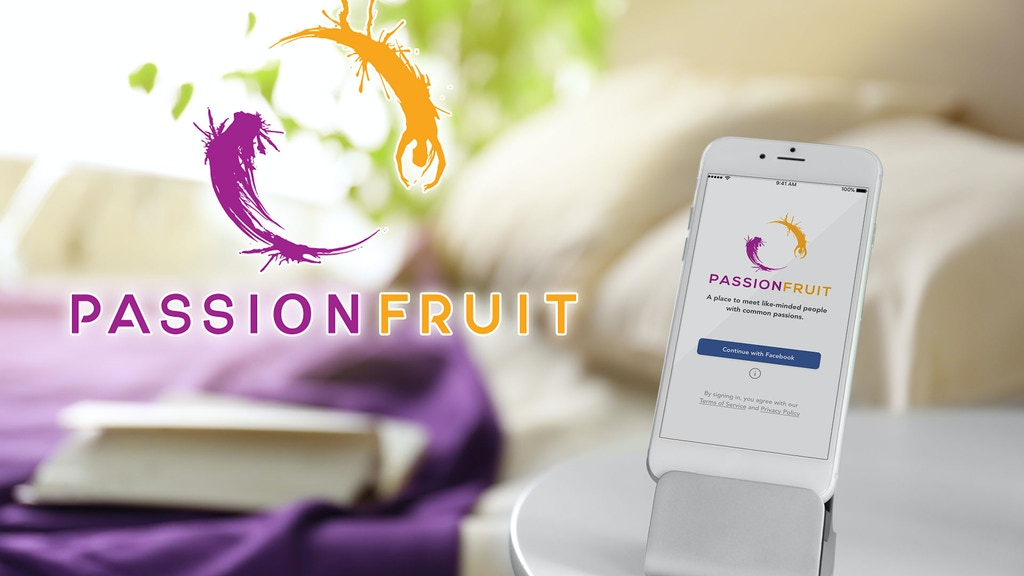 Passionfruit - Connection App for iPhone & Android phones