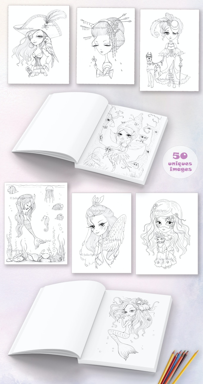 Whimsical wonders the artists edition will be print in the united states of america in a factory that has a lot of experience in printing coloring books
