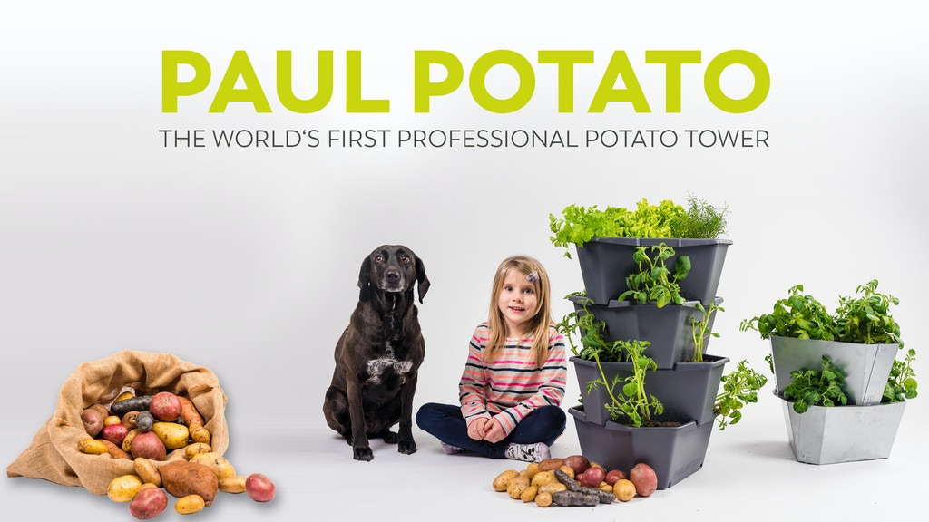 Paul Potato The Worlds First Professional Potato Tower By Gusta