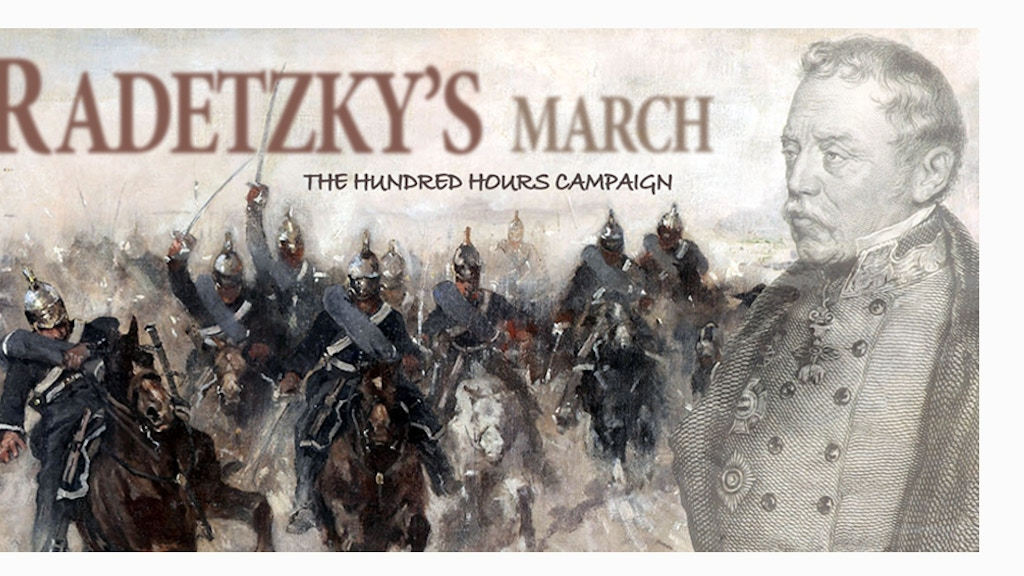 Radetzky's March - The Hundred Hours Campaign project video thumbnail