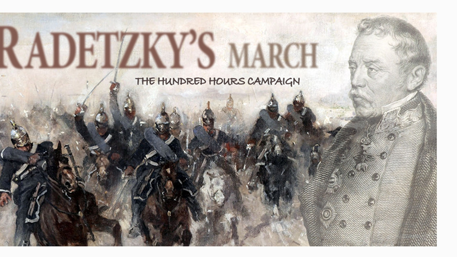 A furious, fast and simple wargame about the last campaign of Radetzky, fought in 1849 against the small but tough Sardinian Kingdom.