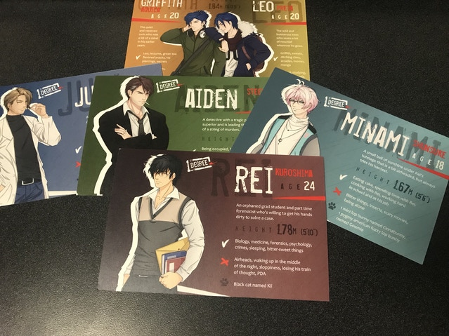 1st Degree Murder Mystery BL Yaoi Visual Novel By Parival Kickstarter
