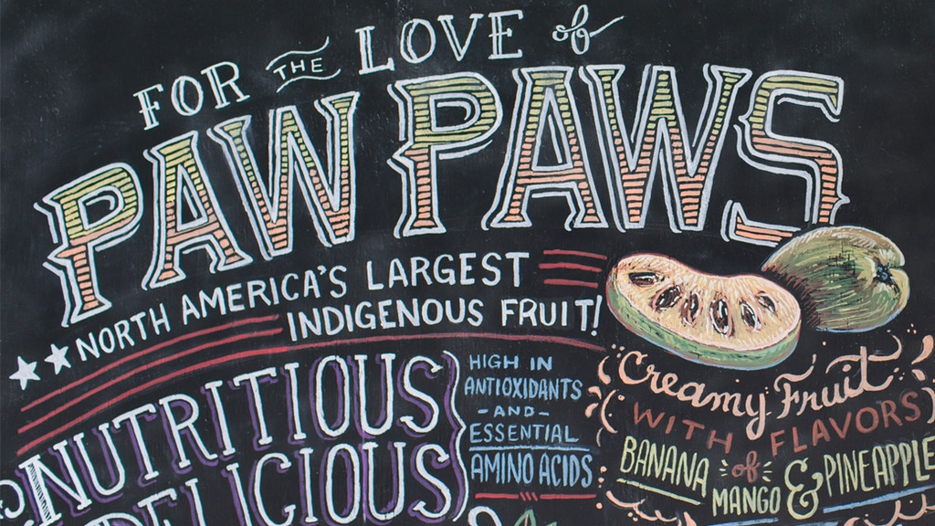 Michael Judd 'For the Love of Paw Paws' - From Seed to Table project video thumbnail