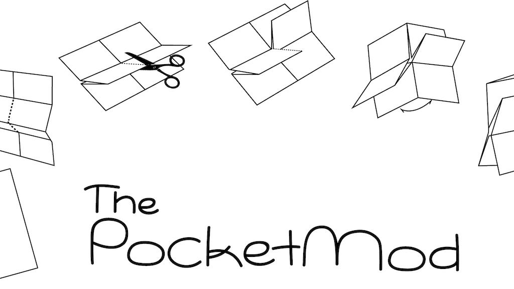The Pocketmod project video thumbnail