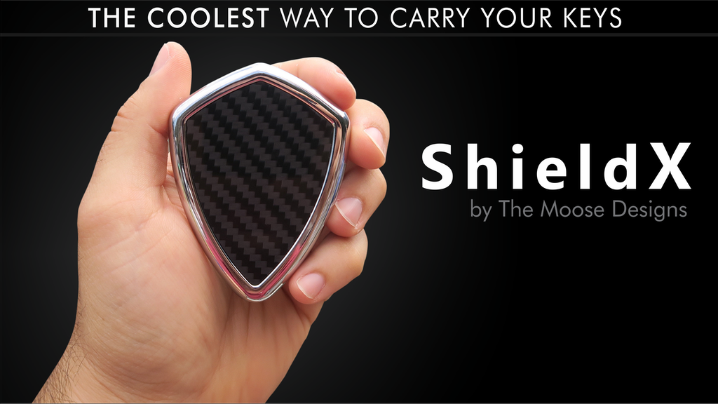 ShieldX - The Coolest Way to Carry Your Keys project video thumbnail
