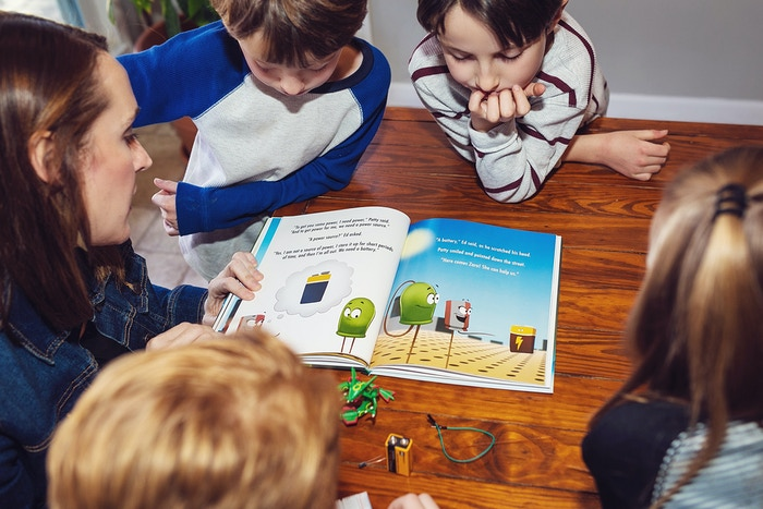 Discover electronics through the power of story! Introducing a children's book about circuits with beautiful, full-color illustrations.