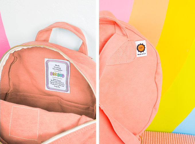 4c99b192e2fa Our Big Classic Backpack! Just like our Mini Classic Backpack but BIGGER!  We ve been trying to make this backpack for a long time but we just haven t  been ...