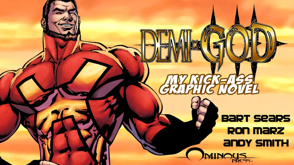 Demi-God: My Kick-Ass Graphic Novel! By Ron Marz-Andy Smith project video thumbnail