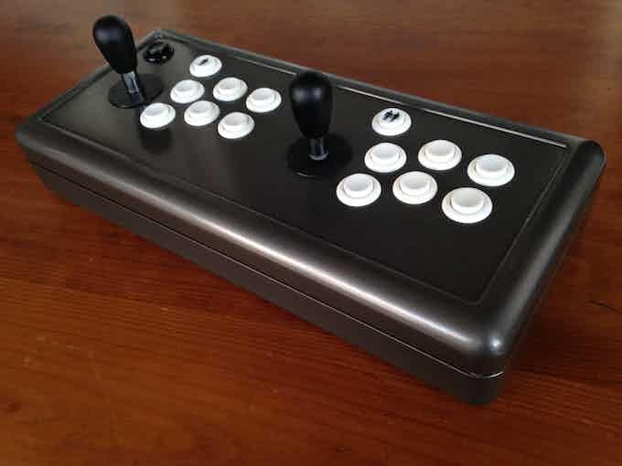 Primer Prototipo Arkadian Joystick
