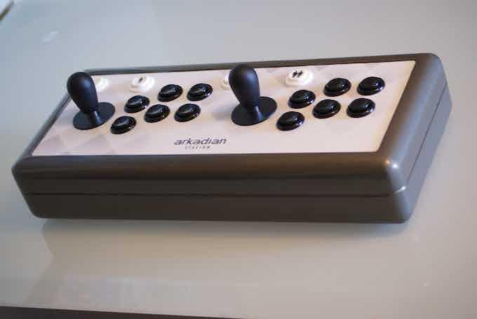 Arkadian Joystick: El Joystick retro arcade profesional.