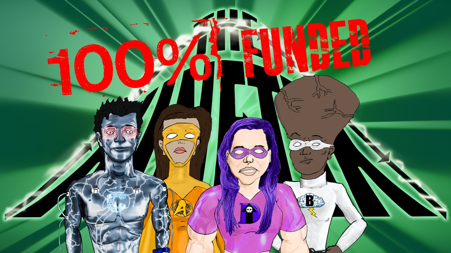 The KINETIX: A superhero team of students with disabilities
