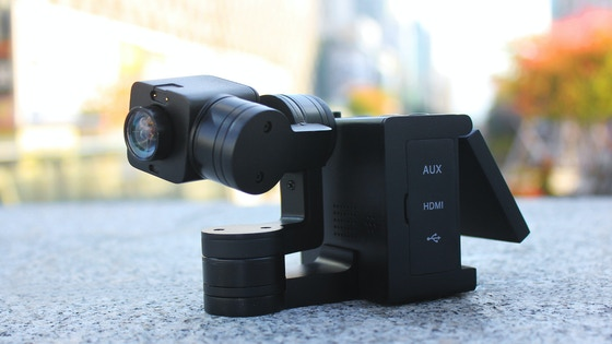 Idolcam: 4K Camera with Gimbal and Interchangeable Lenses