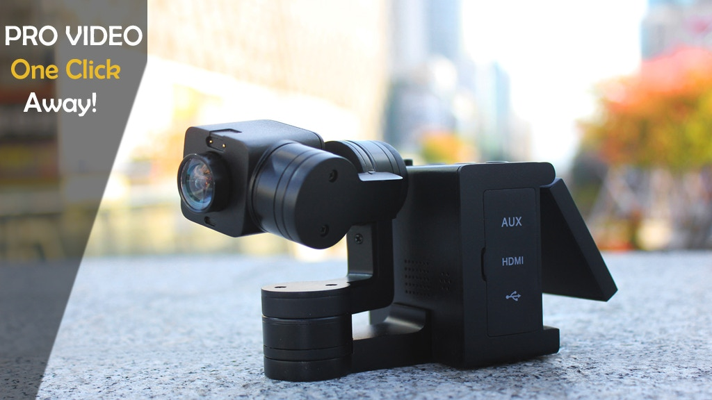 Idolcam: The Pocketable 4k Gimbal Camera! project video thumbnail