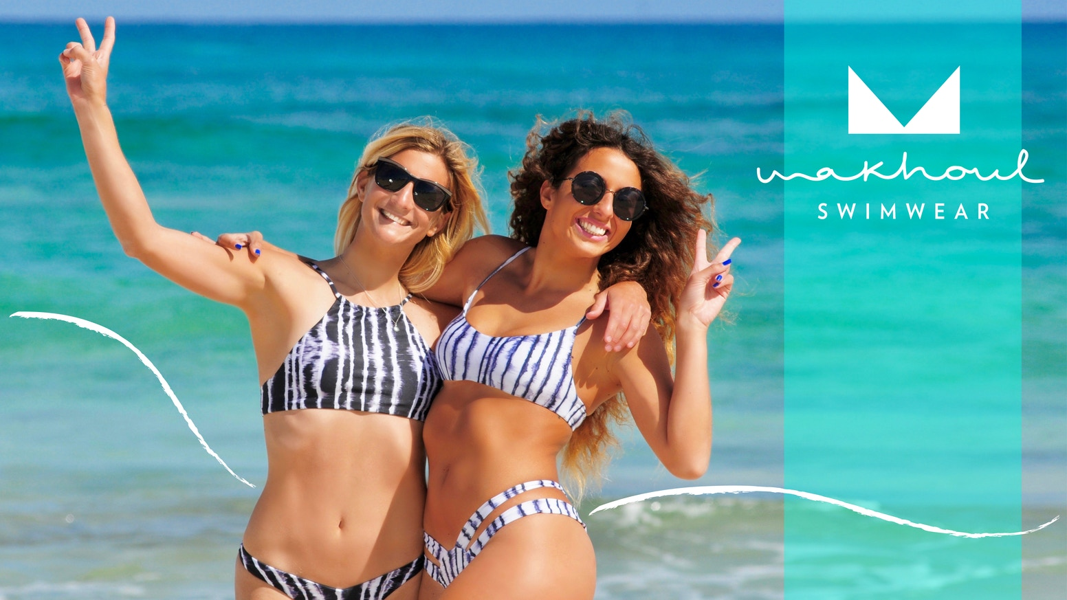 Swimsuits & bikinis for beach lovers & active women! Live life freely!!