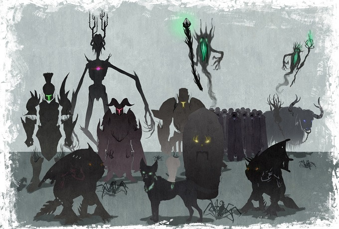 More creatures and enemies to appear soon...