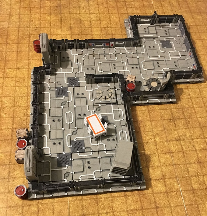 Epic Sci-Fi Tiles: Sci Fi Tiles for 3D Printers (OpenLOCK