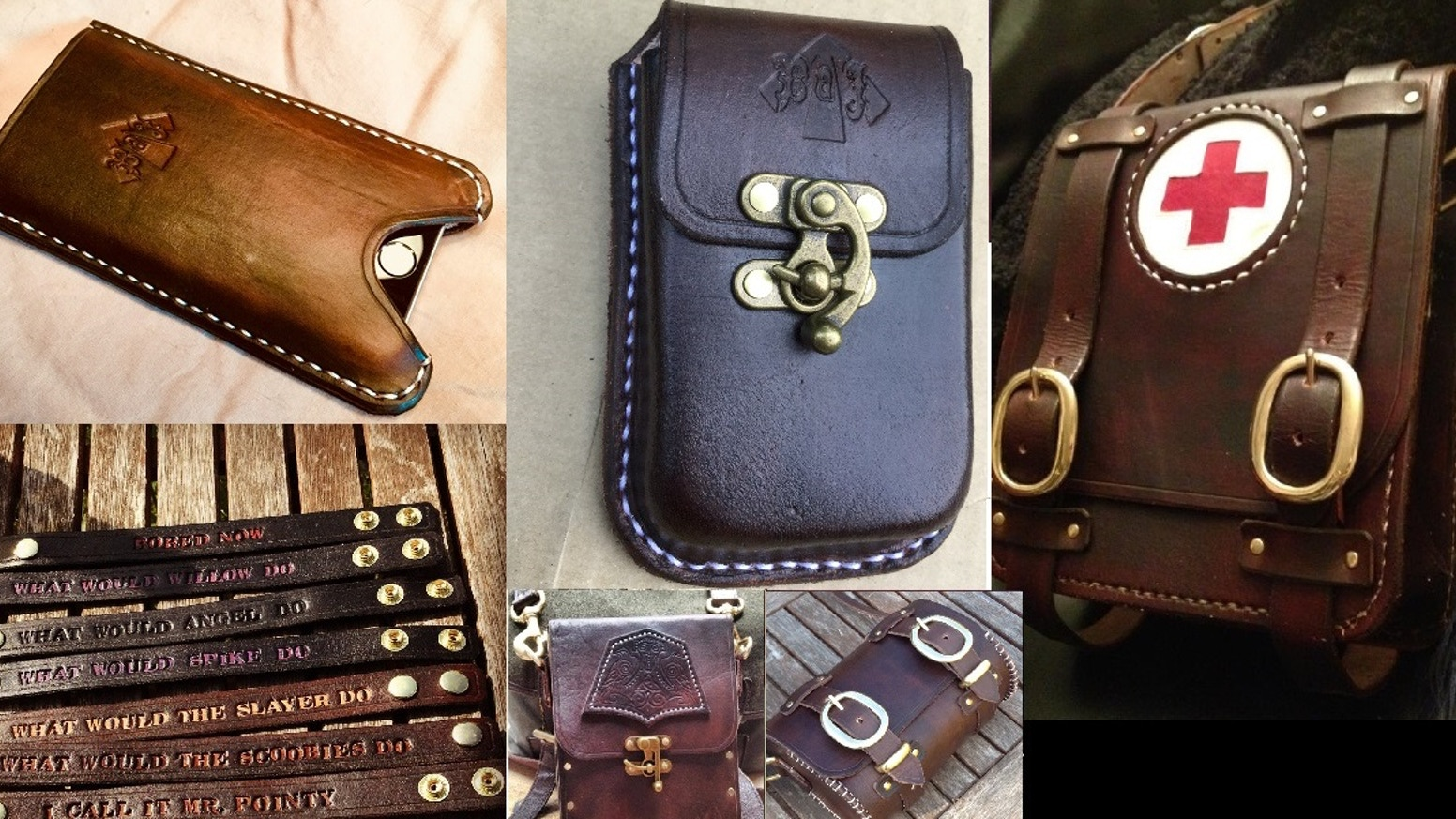 What Is Leather Made Of >> Exclusive Edc Items From Broadarrow Jack Leather By Mark