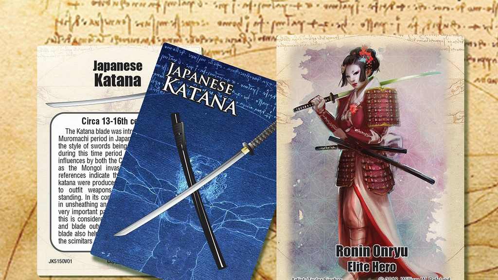 Project image for Lexicons of Dueling Japanese Katana (Canceled)