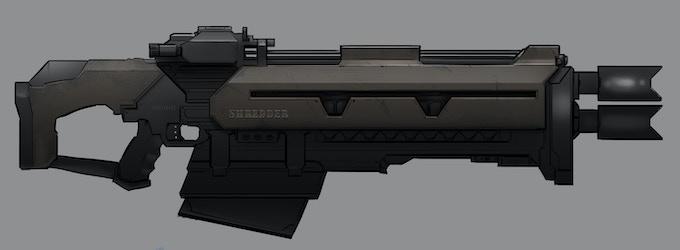 Flakgun ( Anti-Aircraft Rifle)