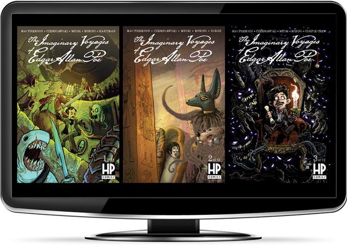3 Kickstarter-Exclusive Digital Comics