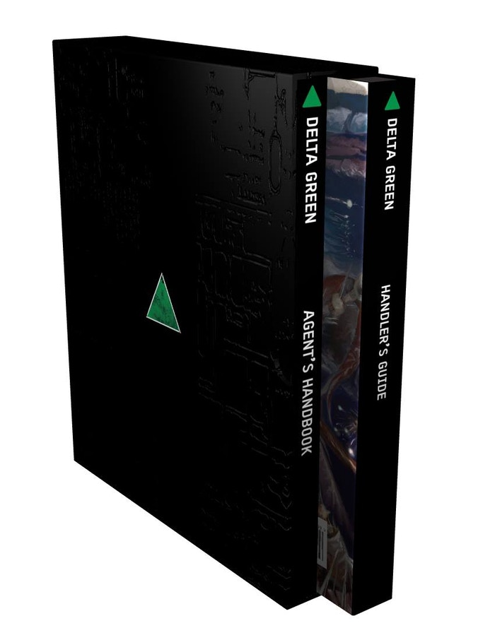 Delta Green: The Role-Playing Game (a digital mockup)