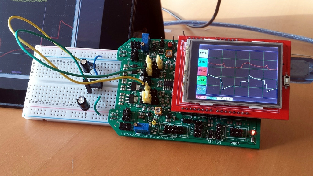 Oscilloscope, generator, debugger, multimeter and much more project video thumbnail