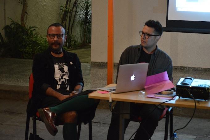 Cuaco Navarro y Mario Wandu (Autores de esta obra de arte)