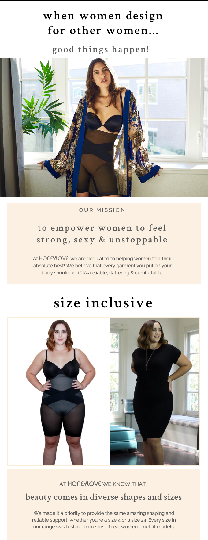 7371f7e9d7 Join us as we bring innovation to shapewear and give you the freedom to  feel fabulous in your clothes!