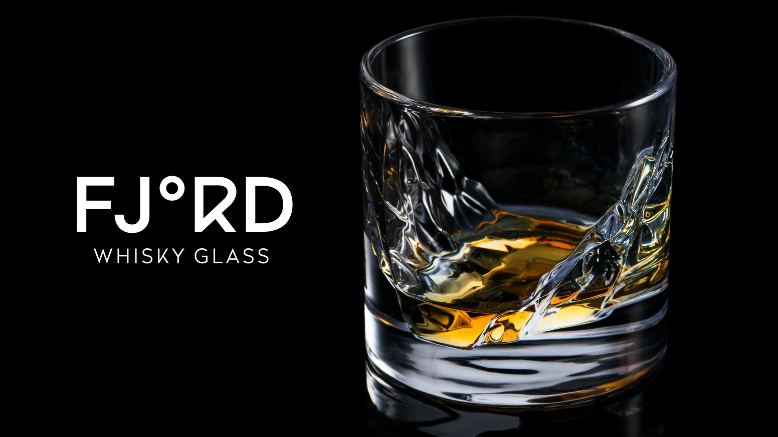 Marrying design, science and pleasure to form a unique whisky glass inspired by the Fjords of Norway