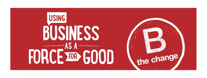 Just over 2,000 business world-wide are certified as a B Corp. We are proud to be one of them.