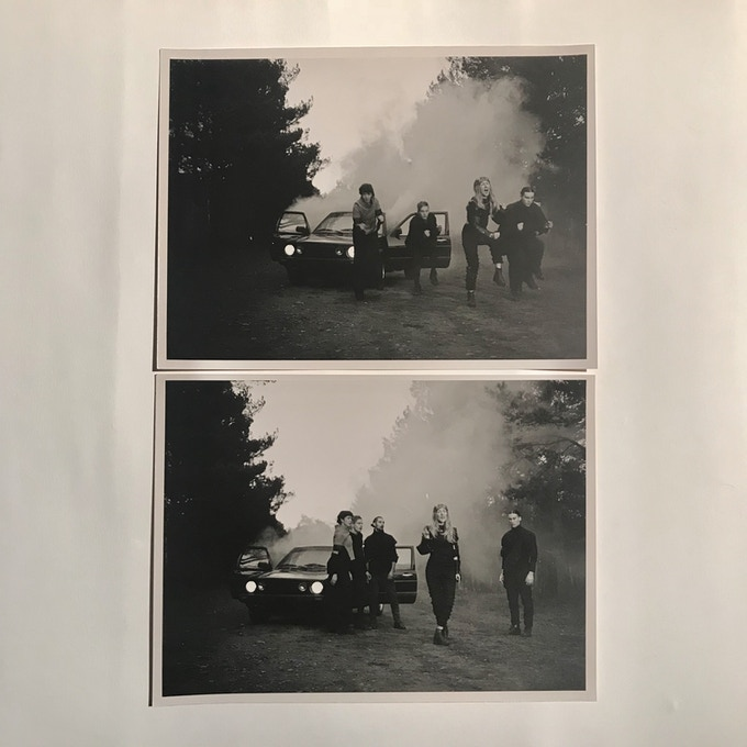 signed analogue behind the scenes of EABF photo print