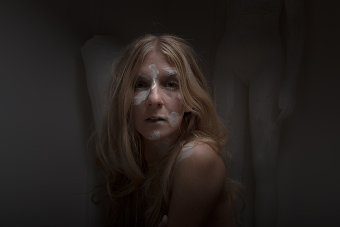 ionnalee during the making of the EABF statue