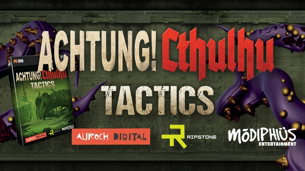 Achtung! Cthulhu Tactics - Action/RPG Video Game project video thumbnail