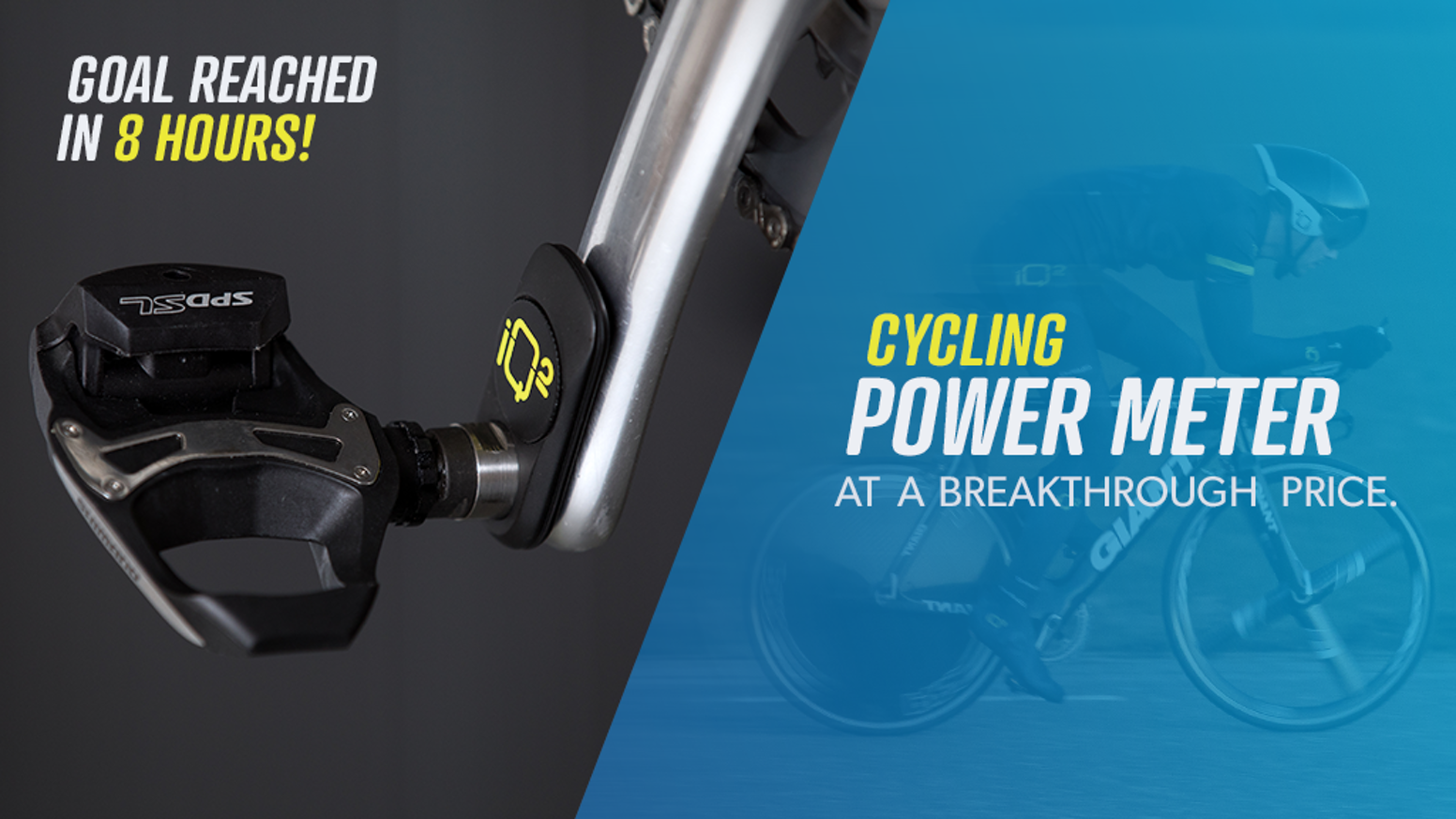 Reach your optimal performance with the power meter by iQ², the most advantageous cycling tool at a price we can all afford.