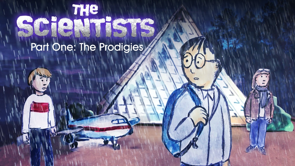 The Scientists #1: YA adventure of prodigies in peril! project video thumbnail