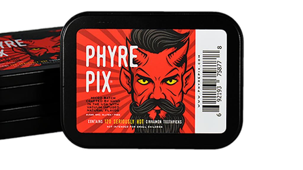 Phyre Pix - Vacuum Infused Cinnamon Flavored Toothpicks project video thumbnail
