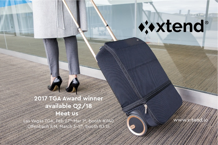 You won't have to choose anymore between carry-on and checked luggage, because you get the best of both worlds with the XTEND suitcase!