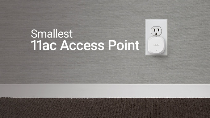 Wall Plug Wave 2 Access Point w/ Meshing