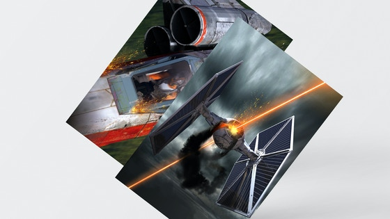 Full Art Damage Deck - X Wing Miniature Game