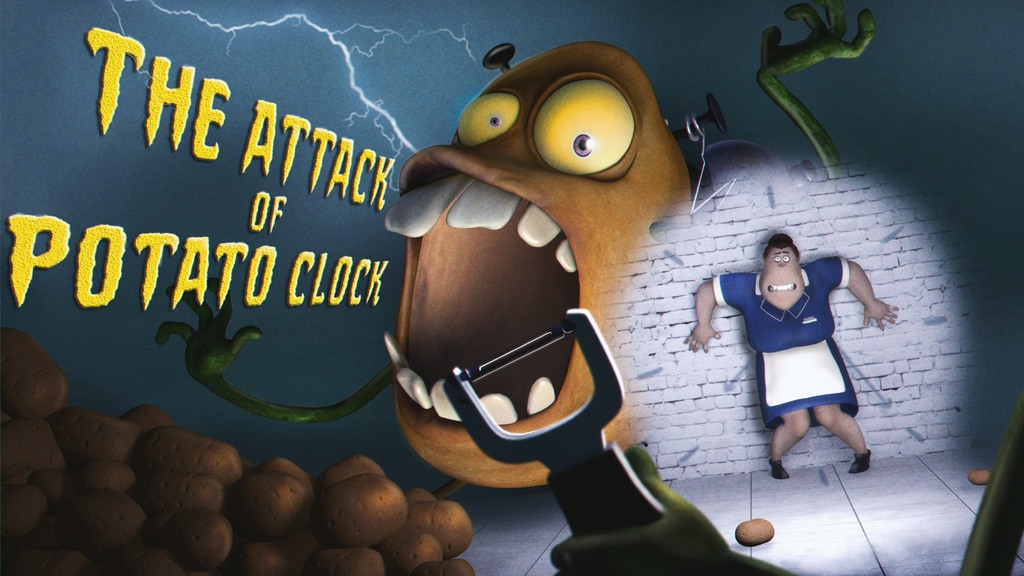 Attack of The Potato Clock project video thumbnail