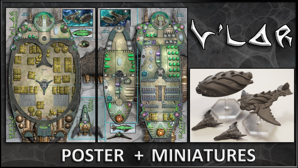 V'lar: Starship Maps & Miniatures project video thumbnail