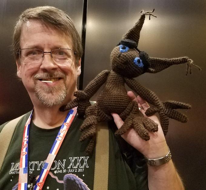 Splunk and Mark at Dragoncon